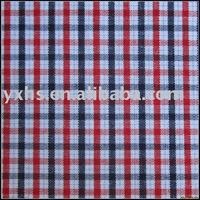 100 Cotton Plaid Yarn Dyed Plaid Woven Fabric
