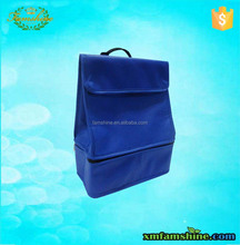 disposable insulated double compartment lunch cooler bag