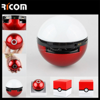 Handsfree Pokemon Go Ball bluetooth Speaker 2016 With 7C Led Light Supoort TF card-BSP-238A--Shenzhen Ricom