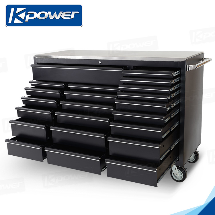 61 Inch 22 Drawers Car Repair Tool Trolley With Tools