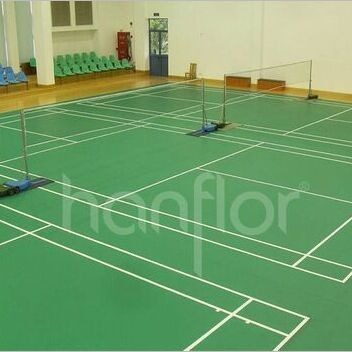 Euro Standard Good Quality PVC Roll Floor for Badminton Court