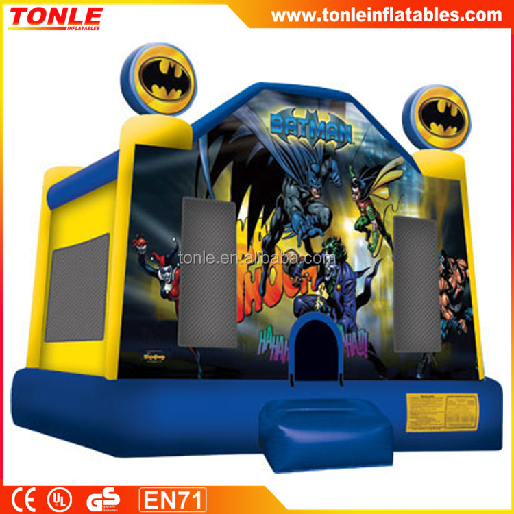 batman inflatable bouncer, inflatable bouncy castle, inflatable batman jumper