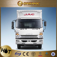 JAC light truck with container 5t small cargo truck dimensions / auto spare parts