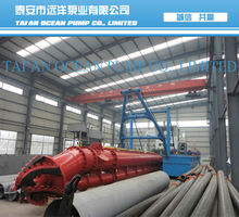 Cutter head sand suction dredger for sea for sale