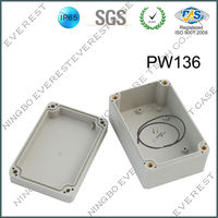 Open Air using plastic waterproof housing box electronic enclosure