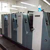 CMYK 4 Colors offset printing machine press