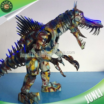 Lisaurus-CH1061 Cartoon characters mascot EVA armor dinosaur costume for cosplay