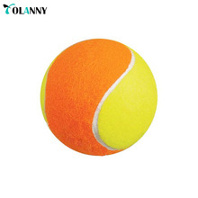 outdoor game funny pet tennis ball felt material and tennis ball thrower