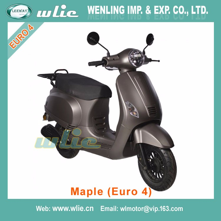 Fast delivery 125cc chopper model chinese motorbikes cheap stock cafe racer motorcycle Euro4 EEC Scooter Maple 50cc, (Euro 4)