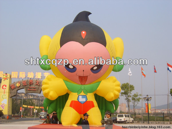inflatable cartoon characters advertisement product
