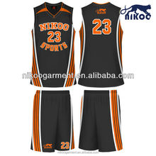 Cheap youth dry fit womens basketball uniform design