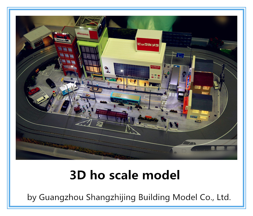 Ho scale train model /architectural model for sale/miniature architecture model