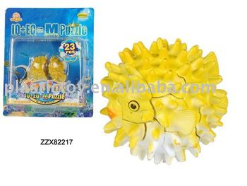 Puffer fish toy zzx82217 buy compages toys assembles toy for Puffer fish price