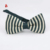 Fashion Green Stripe Knit Bow Tie Online Various Polyester Knitted Ties Men