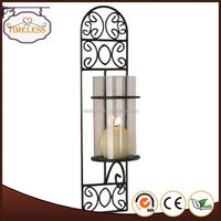 With 9 years experience factory supply metal candle holder parts
