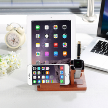 2016 new wooden stand for phone&tablet PC&watch&pen