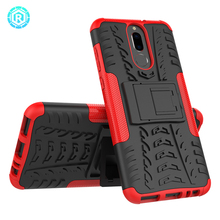 TPU/PC Shock proof Back Cover For Huawei maimang 6 Genuine Dazzle Kickstand Phone Case
