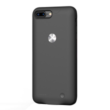 Hot sale sleek back external battery charger case for iphone 7 Plus