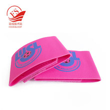 Custom printed Hook loop Elastic band for sport soccer football