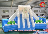 Water game city Ice Kingdom inflatable water game city