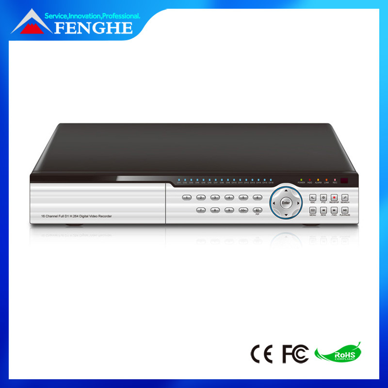 CCTV Surveillance Security System Network H.264 16CH DVR Digital Video Recorder