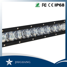 50000 lumen aluminum housing single row led off road light bar agriculture jeep