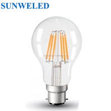 Dimmable LED filament Light A60 candle light E27 2w 4w 6w 8w 10w