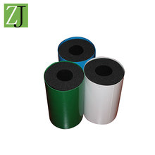 Customized ducting steam pipe foam rubber insulation material