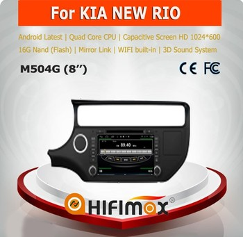 Hifimax car radio dvd gps navigation system for KIA K3 WITH Quad Core CPU 16G Hard disk HD1024*600 capacitive screen