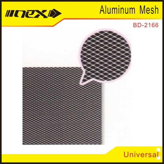 Chrome or Powder Coated Grill Mesh for Car