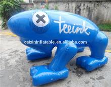 inflatable giant frog/ inflatable advertising frog model/ air blow frog balloon