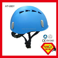 HT-0801 CE EN 12492 UIAA Mountain Rock Climbing Sports mountain bike Helmet