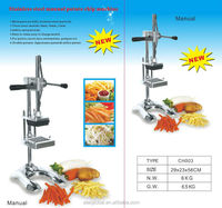 Professional Heavy Duty French Fry and Vegetables Cutter with 3 cutting frames