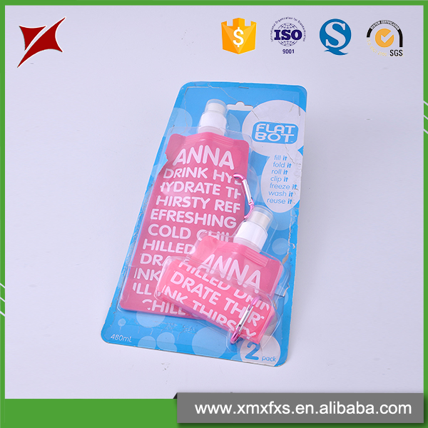 China blister Clear plastic clamshell blister pack for retail packaging