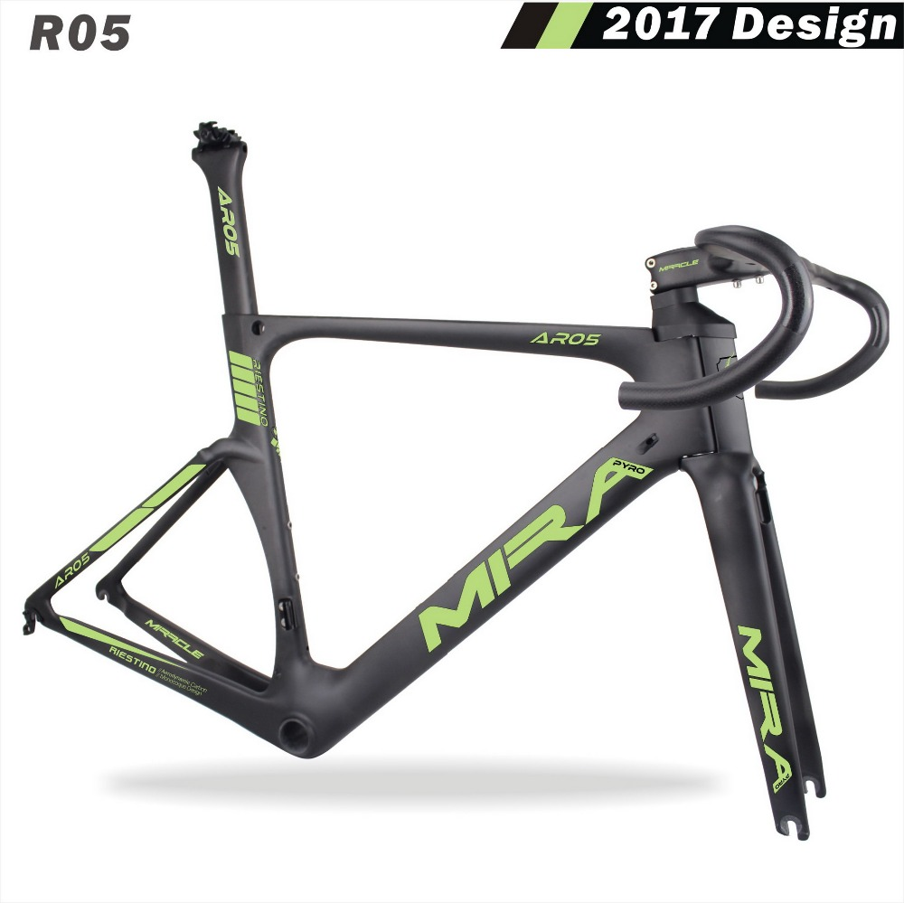 2017 newest aero carbon road bike frame oem factory directly sale