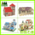 Promotional Brain Teaser small size 3D Wooden Puzzle Castle model puzzle toys