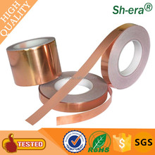 best selling Newly 0.025mm conductive glue Copper adhesive foil tape with fast shippment