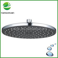 Waterfall shower head rotating shower head sauna rooms type and wet steam function shower panel