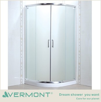2017 shower room with 6mm glass