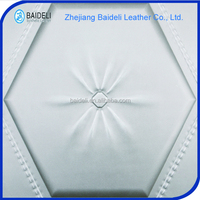 multiple design pvc coated fabric leather panel for wall decoration