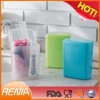 RENJIA toothbrush holders with covers covered toothbrush holders bathroom soap dispenser and toothbrush holder