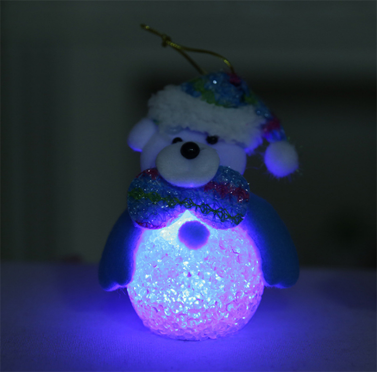 EVA snowman christmas tree lighting Night light
