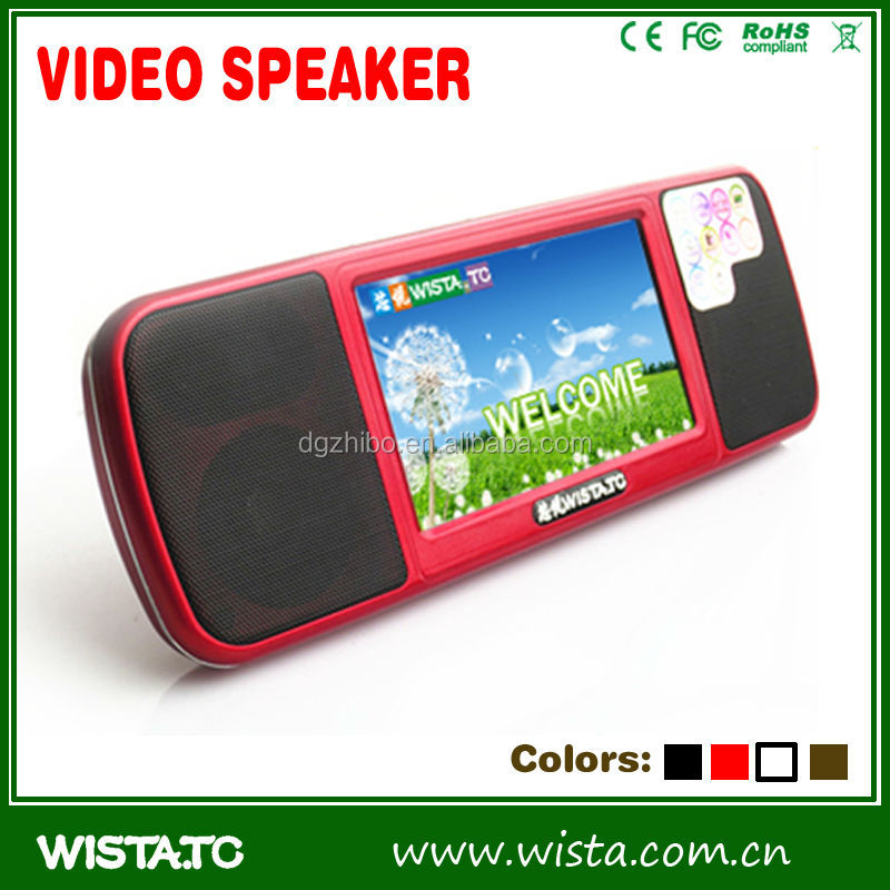 The most popular bluetooth speaker ,WISTA bluetooth speaker with MP3 function
