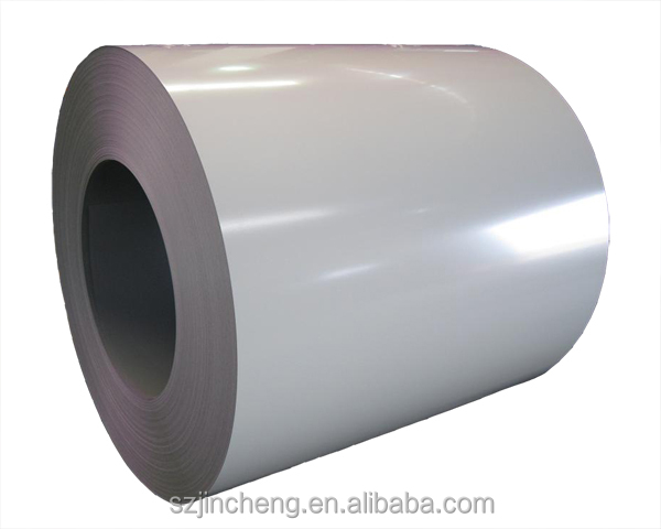 PPGI Coils, Color Coated Steel Coil, RAL9002 White Prepainted Galvanized Steel Coil Z275/Metal Roofing Sheets Building