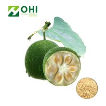 Natural Monk Fruit 80% Mogrosides 25% Mogroside V Luo Han Guo powder Extract