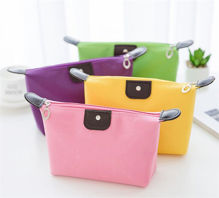 Hot sales  colorful wholesale lady custom cosmetic bag travel makeup beauty bag_15