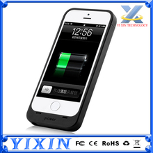 High quality with FCC,CE,ROHS 3 in 1 External chargers case for iPhone 5 5S 5C