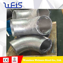 90 degree stainless steel long sweep elbow