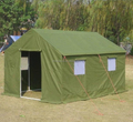 Waterproof PVC used military tents for sale with wind resistance 100km/h(0.5kn/sqm)