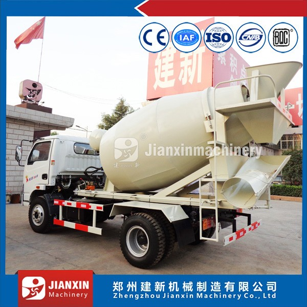 China direct manufacturer concrete mini mixer truck